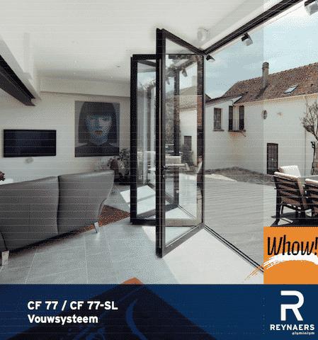 Ramen en deuren, veranda bouwen
