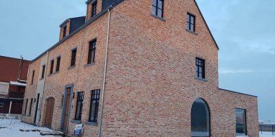 nieuwbouw SL38 zijgevel gebogen raam